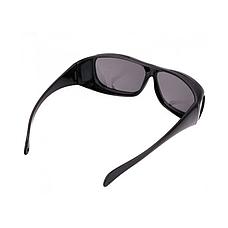Антибликовые очки HD VISION 2 штуки в наборе, от солнечных бликов и для ночного вождения, фото 3