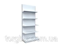 Стеллаж торговый магазинный металлический 600 (1000мм)