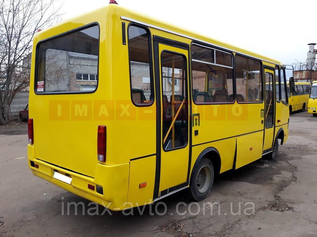 Ремонт кузова автобуса Эталон