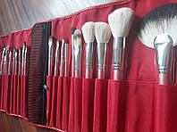 Набор кистей для макияжа Shany red cotton 22pc