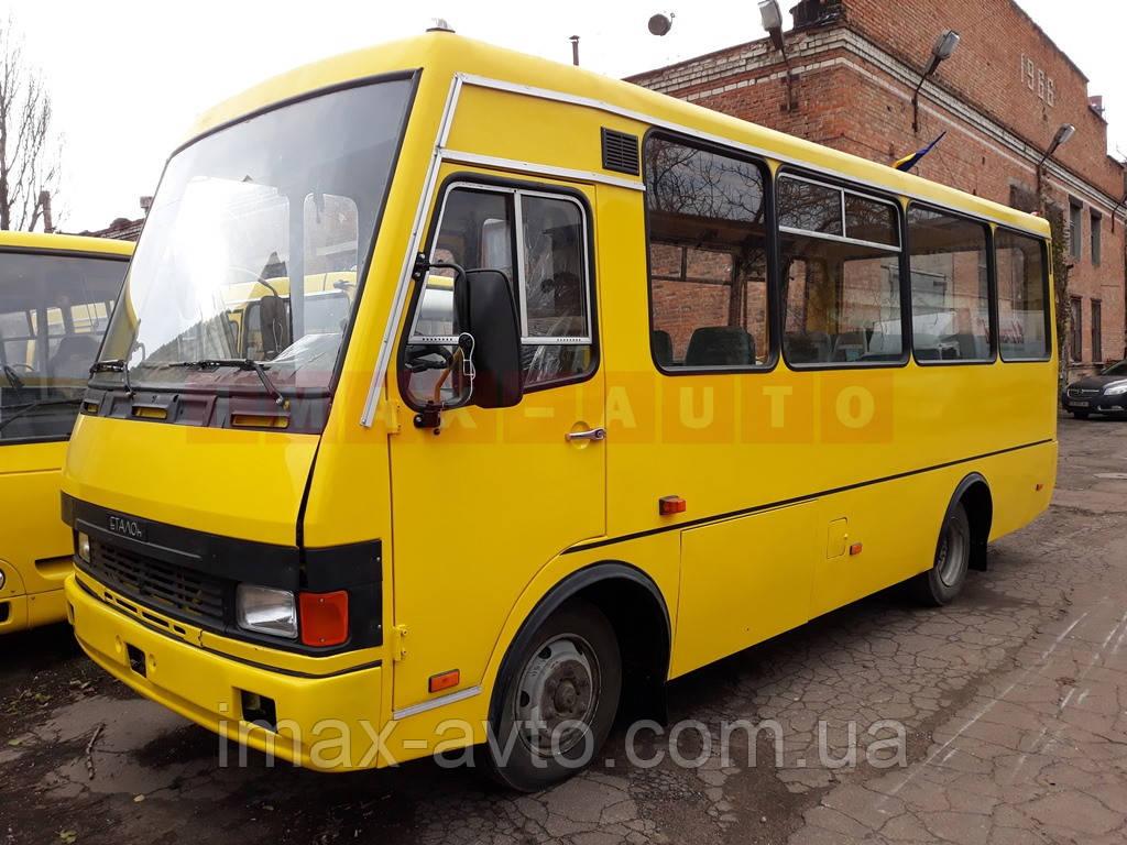 Кузовной ремонт автобуса Эталон