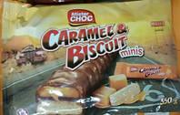 Mister Choc Caramel Biscuit Minis 340 g