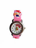 Часы детские Hello Kitty HK-181 Розовые, КОД: 112014