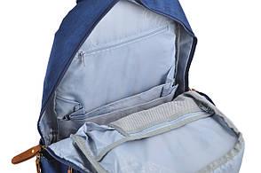 """Рюкзак """"Yes"""" №555606, OX 343, синий, (42*29,5*14), фото 3"""