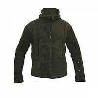 Куртка флисовая с капюшоном OD, фото 1