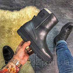 Женские ботинки Puma Fenty by Rihanna Chelsea Black демисезонные (черный)
