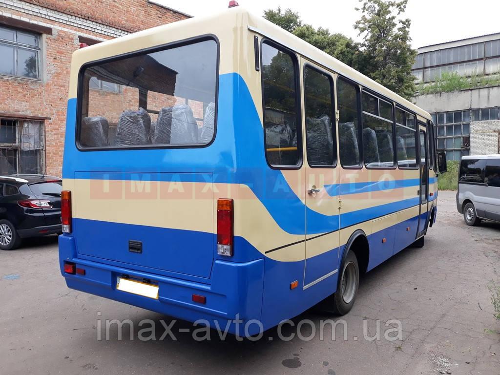 Кузовной ремонт междугороднего автобуса Эталон