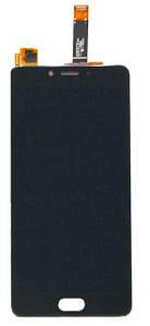 Дисплей Meizu E2 (M2e) з сенсором (тачскрін) чорний
