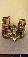 Керамическая декорация, дизайн аквариума, замок, крепость, башня с114