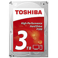 Жесткий диск 3.5 3TB TOSHIBA HDWD130UZSVA, КОД: 1323379