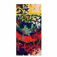 """Бафф унисекс универсальный """"Jungle"""" разноцветный с абстрактным принтом"""