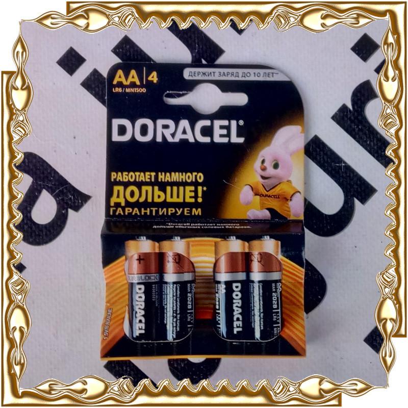 Батарейка Doracel R06 1.5 V на планшеті (80 шт/уп.) Original