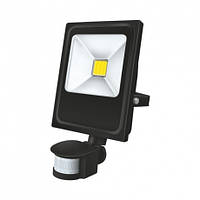 Прожектор с датчиком движения Ecolux Led EXS10 10 Вт 6500 К 800 Лм, КОД: 1235451