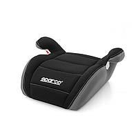 Детское сиденья бустер SPARCO F100K Черно-серый
