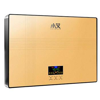 Електричний проточний водонагрівач Nux XA-65A горизонтальний c душем 6000В IPX4 (3671-10571)