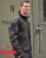 Куртка Mil-Tec BLACK PROF.SOFTSHELL JACKET PCU