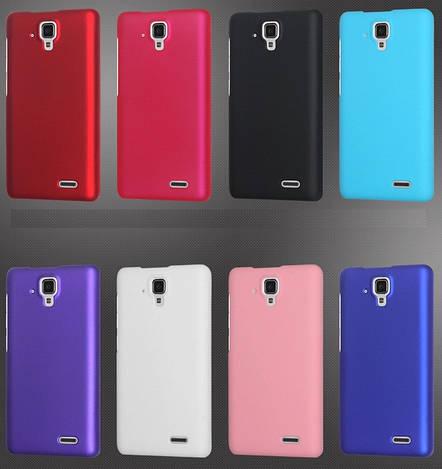 """Lenovo A536 оригинальный PC чехол панель накладка бампер для телефона одноцветный """"COROLFOOL"""""""