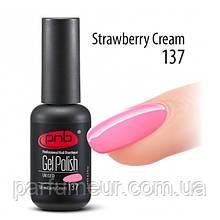 ГЕЛЬ-ЛАК PNB 8 МЛ Strawberry Cream 137 світло-рожевий, емаль