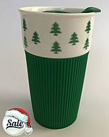 Термостакан Favorite (Любимый) eco cup елки