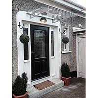 Навес для входных дверей Siker 800-K (800*1200) Серый