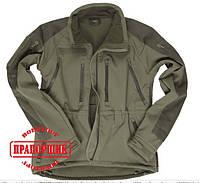 Спортивная куртка Mil-Tec OD PROF.SOFTSHELL JACKET PCU