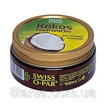 Воск кокосовый для укладки волос 100 мл. SWISS-O-PAR 6449