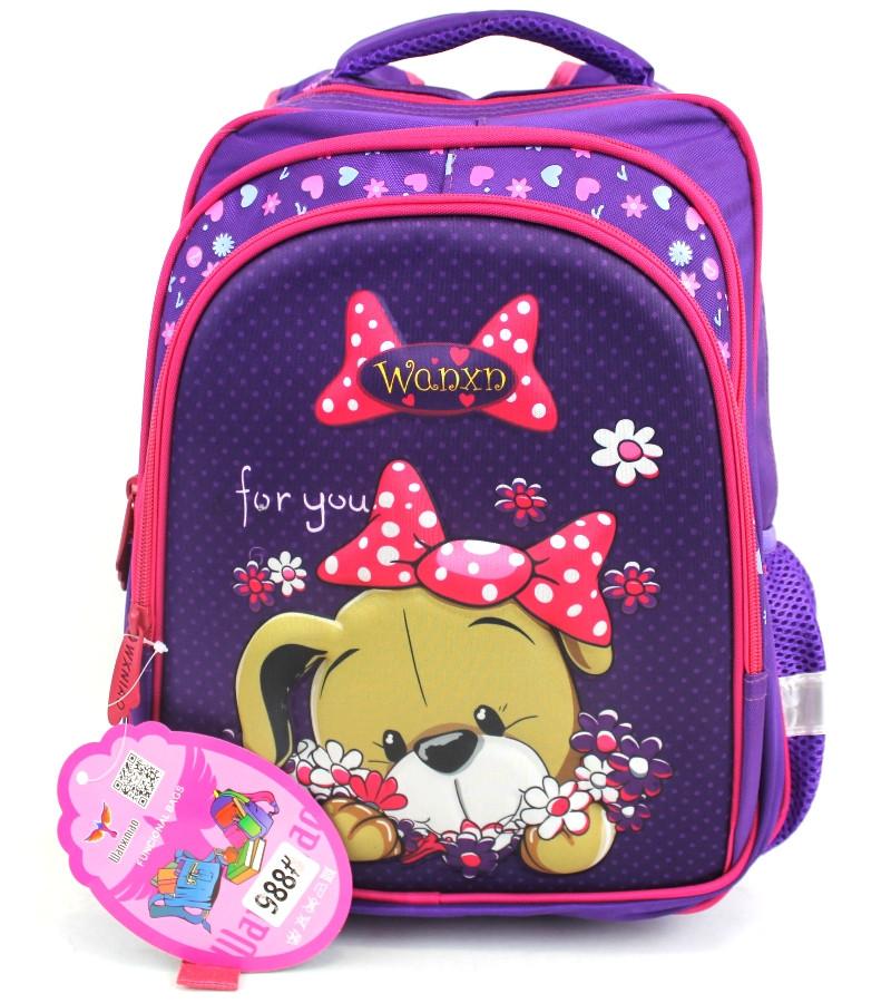 """Школьный рюкзак для девочки """"Wanxiniao"""" 988"""