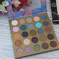 Тени для век LA ROSA Гламур 25 цветов, перламутровые+матовые