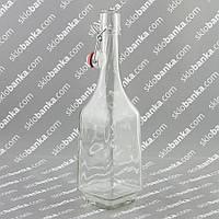 Бутылка штоф 0,7 л c бугельной крышкой