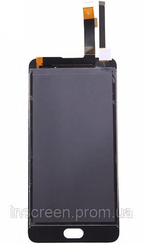 Дисплей Meizu M3e (A680Q) з сенсором (тачскрін) білий, фото 2