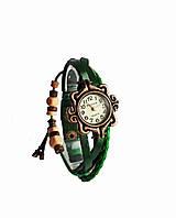 Часы женские кварцевые Viser Vintage Зеленые 0032G, КОД: 112005