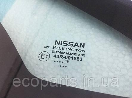Скло переднє бокове ліве (кватирка) Nissan Leaf. Нове!, фото 2