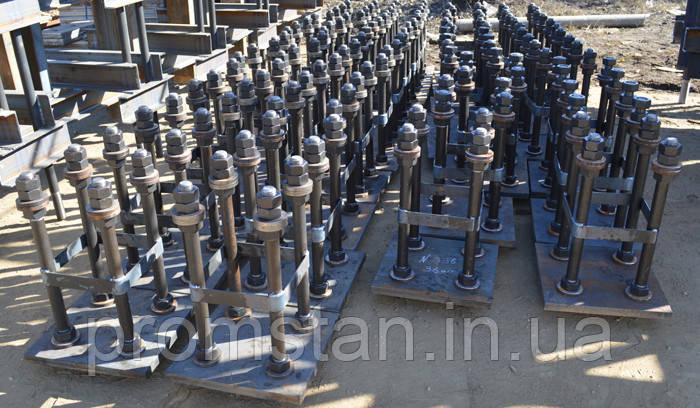 Анкерные блоки, закладные, фундаментные анкера металлические