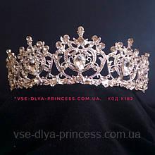 УЦІНКА Корона, діадема, тіара під срібло, висота 5 див.
