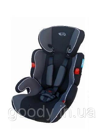 Автокрісло Enzo Sport 9-36 кг дітям від 9 місяців до 12 років (сірий)