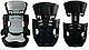 Автокрісло Enzo Sport 9-36 кг дітям від 9 місяців до 12 років (сірий), фото 3