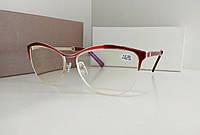 Компьютерные корригирующие очки с покрытием Blue Blocker, красные (1811S C1) +2.00