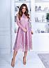 Платье миди кружево в расцветках 74207А, фото 3