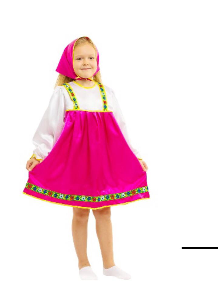 Карнавальный костюм Машенька, Матрёшка
