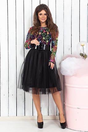 Платье низ фатин 74470, фото 2