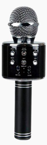 Безпровідний мікрофон для караоке Wster WS858 Black Оригінал