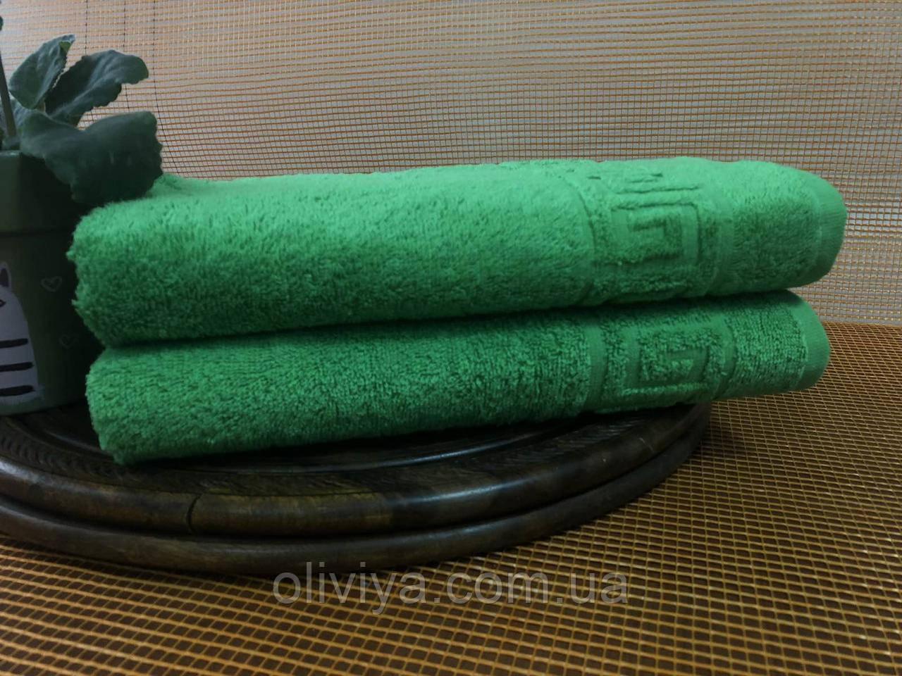 Полотенце для бани (зеленое)