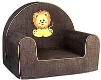 Мягкое кресло в детскую комнату «Львёнок»