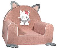 Мягкое детское кресло «Котик»