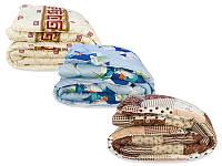 Одеяло шерстяное в сатине Casa Ricco (зима) - двуспальное