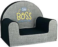 Мягкое детское кресло «The boss»