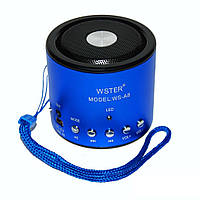Портативная акустическая система WS-A8 Blue 1em000370, КОД: 724021