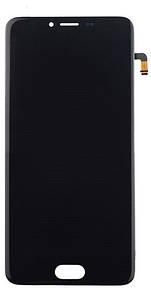 Дисплей Meizu M5 M611 з сенсором (тачскрін) чорний