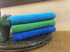 Рушник для масажного кабінету 100х180 (синє), фото 2