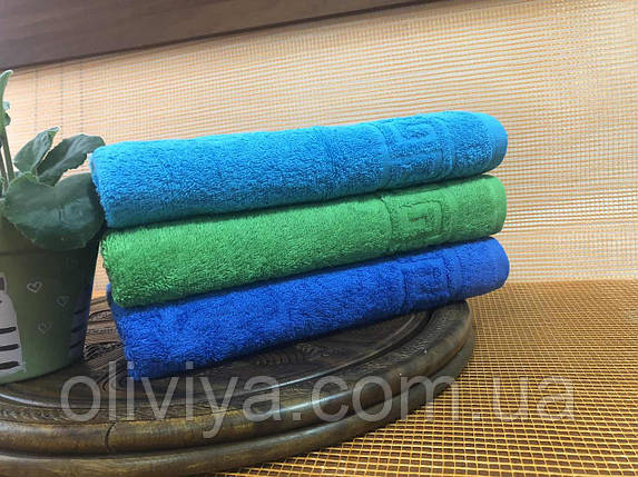 Полотенце для массажного кабинета 100х180 (синее), фото 2
